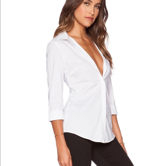 Sexy button up shirt